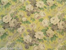 Sanderson Curtain Fabric Chelsea 3.35m Linden/silver Vintage Floral Design 335cm