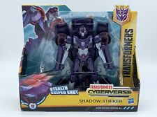 Transformers Cyberverse Ultra Class Shadow Striker Stealth Sniper Shot Figure
