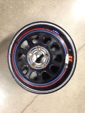 "Circle D-HOLE SPUN RACING WHEEL Basset 15X10 4.5""BS 5 BOLT IMCA LATE MODEL AERO"