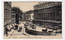 GRESHAM STREET AND GENERAL POST OFFICE: London LL postcard (C27186)