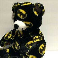 """Build A Bear Batman 16"""" plush Teddy Black & White DC Comics"""