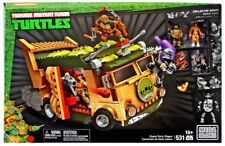 Mega Bloks Teenage Mutant Ninja Turtles Collector Classic Party Wagon Set #14984