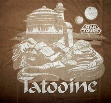 Disney Star Wars Tatooine Jabba the Hut T-Shirt Star Tours - Ltd Release Adult M