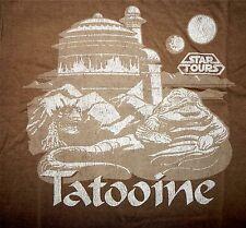 Disney Star Wars Tatooine Jabba the Hut T-Shirt Star Tours Ltd Release Adult XXL