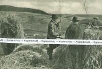 Lüdge in Westfalen - Richten der Osterfeuerräder - um 1935             T 29-12