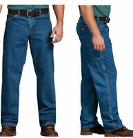Dickies Big Men's Relaxed Fit Stonewashed Carpenter Denim Jean