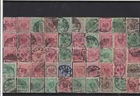 Germany early used Reichspost Stamps with good cancels Ref 14256