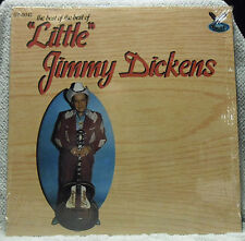 Best Of The Best Of Little Jimmy Dickens LP NM in Shrink Bird of Paradise Gusto