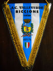 GAGLIARDETTO A.C. VALLEVERDE RICCIONE CALCIO pennant wimpel fanion