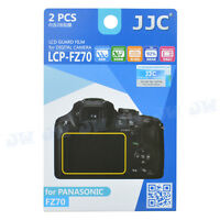 JJC 2PCS LCD Guard Camera Display Screen Protector Film for Panasonic FZ70 TZ70