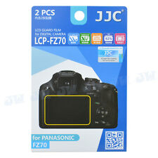 JJC LCD Guard Camera Monitor Display Screen Protector Film For Panasonic FZ70