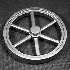 Schwungrad 140mm Stahlguss für Stirlingmotor, Flammenfresser oder Dampfmaschine