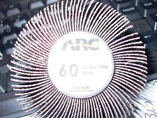 ARC 60 ABRASIVE SHANK MOUNT FLAPPER WHEEL