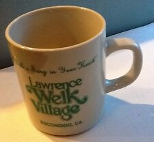 vintage Lawrence Welk Village Escondido California Coffee Cup song In Your heart
