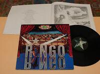 RINGO STARR BEATLES:LP-1°press italy 1973 foc+libro EX+