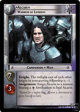 Lord of the Rings CCG Helm's Deep 5R31 Alcarin Warrior of Lamedon TCG LOTR