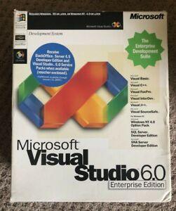 Microsoft Visual Studio Enterprise Edition 6.0 (Retail) (1 User/s) - Full...