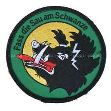 Patch N41 Luftwaffe Air Denfence Squadron Toppa con velcro