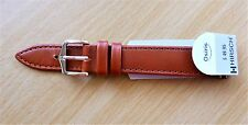 "Hirsch 16mm Leather Band-""Osiris""-Water Resistant- G/PLATED BUCKLE"