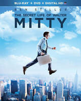 The Secret Life of Walter Mitty (Blu-ray/DVD, 2014, 2-Disc Set) BRAND NEW