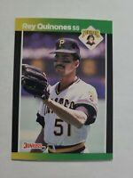 REY QUINONES 1989 DONRUSS BASEBALL'S BEST BASEBALL CARD # 185 D9667