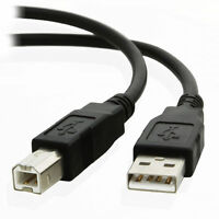 USB Cable Printer Lead A TO B Male High Speed 2.0 Epson Kodak HP LONG