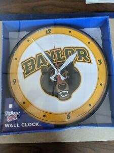"Baylor University Of Chicago Wall Clock 12"" USA Wincraft Sports"