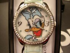 Disney Daisy Duck Watch, DAS001, Light Green Strap