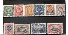 Mexico,1899,Scott#292-303,set of PROOFS,MH