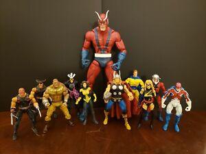 Toybiz Marvel Legends Giant Man Baf Series! Complete BAF!