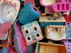 LOT 3 RANDOM Fisher Price Loving Family Furniture Chair Table Sofa Bed Drawer!