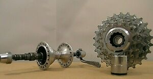 Campagnolo Original Vintage 80/90 Hub / Pack Pinions/Cassette 8 Speed 36 Holes