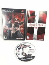Vampire Night (PS2 Sony PlayStation 2, 2001) Complete w/ Manual