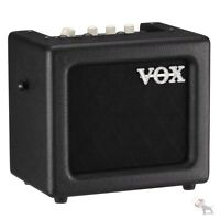 Vox MINI3 G2 Modeling Guitar Amplifier 5-Inch Speaker Black w/ Effects