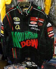 Dale Earnhardt JR mountain dew JH nascar jacket adult -- free shipping new