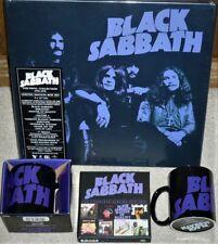 BLACK SABBATH - THE VINYL COLLECTION + 8 CD BOXSET + 2 MUGS - ALL NEW & SEALED