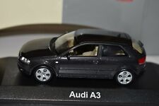 1/43 Minichamps Audi A3 Quattro 3.2 Antrazitgrau Metallic 2003-2005