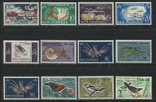 French New Hebrides 1963-67 values to 3 francs mint o.g.