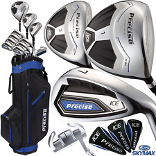 """60% OFF"" SKYMAX PRECISE ICE MENS COMPLETE GOLF SET +GOLF CARRY / CART BAG"