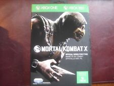 Mortal Kombat X Official Wired Fight Pad Controller For Xbox One 1 360 - New