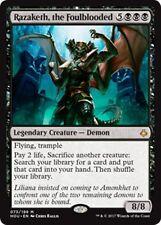 RAZAKETH, THE FOULBLOODED Hour of Devastation MTG Black Creature — Demon Mythic
