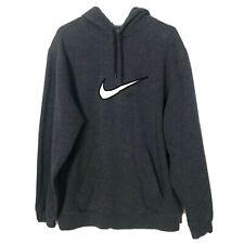 Nike Hoodie Gray Big Swoosh XXL Mens Sweatshirt