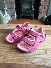 Girl's Sandles Karrimor doodles in Pink. Size 9.