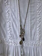Reminiscence Silber Kette Collier Anhänger Herz Amethyst lila Schmuck Paris
