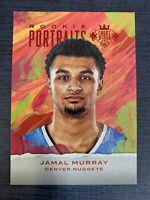 Jamal Murray RC 2016-17 Panini Court Kings Portraits Ruby /75 Denver Nuggets