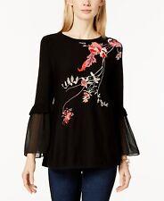 NEW   Alfani  Embroidered Tunic Sweater Size XL