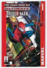 Ultimate Spider Man #1 Marvel Comics 2002,Free Comic Book day. High Grade copy.