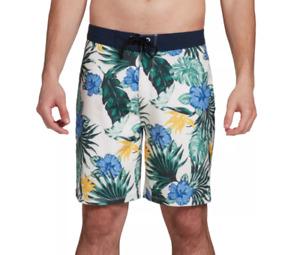 Hurley Swim Trunks Mens 32 Authentic Phantom Lanai 20 Inch Board Shorts Floral