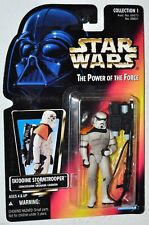 Star Wars 1995 POTF Tatooine Stormtrooper with Concussion Grenade Cannon  0-2
