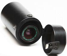 "Vintage 7"" Hard Lens Case For Canon Nikon Olympus Prime Zoom Telephoto Lenses"